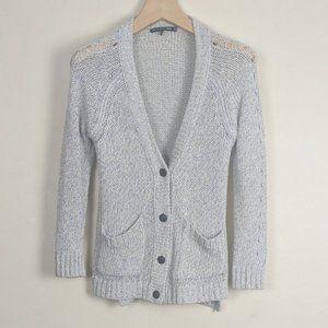 Rag & Bone Thick Knit Cotton Cardigan